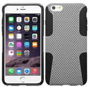 "Insten Mesh Hard Hybrid Rugged Shockproof Plastic Silicone Case For iPhone 6 Plus / 6S Plus 5.5"" - Gray/Black (1951738)"