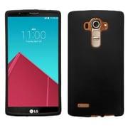 Insten Hard Rubber Cover Case For LG G4 - Black (2118901)