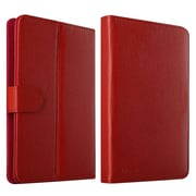 """Insten Leather Universal Stand Folio Case for 7"""" Tablets - Red (2141568)"""