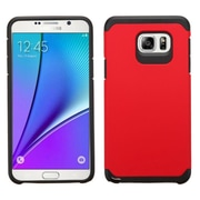 Insten Hard Dual Layer Silicone Case For Samsung Galaxy Note 5 - Red/Black (2140982)