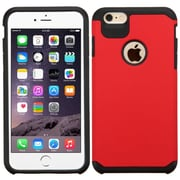 "Insten Slim Hybrid Dual Layer Shockproof Case for iPhone 6s Plus / 6 Plus 5.5"" - Red/Black (2162328)"