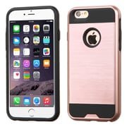 "Insten Slim Hybrid Dual Layer Shockproof Case for iPhone 6s Plus / 6 Plus 5.5"" - Rose Gold/Black (2185429)"