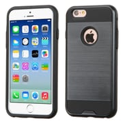 Insten Hard Hybrid Rubber Silicone Case For Apple iPhone 6/6s - Blue/Black (2185430)