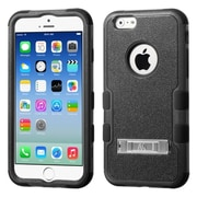 "Insten Tuff Hybrid Hard Shockproof Case Cover with Stand for Apple iPhone 6 6S 4.7"" - Black (1952473)"