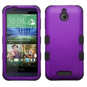 Insten Hard Dual Layer Silicone Case For HTC Desire 510 - Purple/Black (2011525)