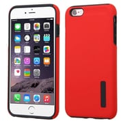 Insten Hard Dual Layer Silicone Case For Apple iPhone 6 Plus/6s Plus - Red/Black (2177120)