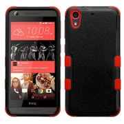 Insten Tuff Hard Dual Layer Rubber Silicone Case For HTC Desire 626/626s - Black/Red (2140962)