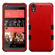 Insten Tuff Hard Hybrid Rugged Shockproof Rubber Coated Silicone Case For HTC Desire 626/626s - Red/Black (2140964)