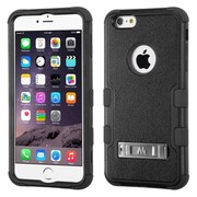 "Insten Rugged Shockproof Hybrid Hard Stand Case For Apple iPhone 6 Plus 5.5"" - Black (1955459)"