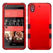 Insten Tuff Hard Dual Layer Rubber Silicone Case For HTC Desire 626/626s - Red/Black (2172472)