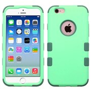 Insten Hybrid 3-Layer Protective Hard PC Outer/Silicone Inner Case for iPhone 6 6s - Green (2186281)