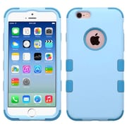 Insten Hybrid 3-Layer Protective Hard PC Outer/Silicone Inner Case for iPhone 6 6s - Blue (2186282)