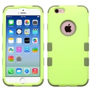 Insten Hybrid 3-Layer Protective Hard PC Outer/Silicone Inner Case for iPhone 6 6s - Green (2186283)