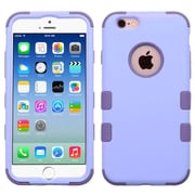 Insten Hybrid 3-Layer Protective Hard PC Outer/Silicone Inner Case for iPhone 6 6s - Purple (2186285)