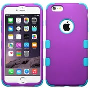"Insten Hybrid 3-Layer Hard PC Outer/Silicone Inner Case for iPhone 6s Plus / 6 Plus 5.5"" - Purple/Blue (2006128)"