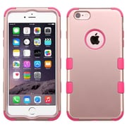 "Insten Hybrid 3-Layer Hard PC Outer/Silicone Inner Case for iPhone 6s Plus / 6 Plus 5.5"" - Rose Gold/Hot Pink (2185085)"