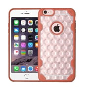 Insten Hard Crystal TPU Case For Apple iPhone 6 Plus/6s Plus - Clear/Orange (2181424)
