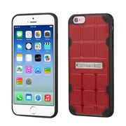 Insten Hard TPU Cover Case w/stand For Apple iPhone 6/6s - Red/Black (2192772)