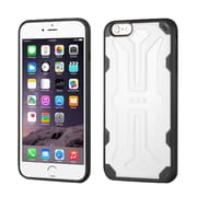 Insten Hard TPU Cover Case For Apple iPhone 6 Plus/6s Plus - White/Black (2192776)