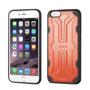 Insten Hard TPU Case For Apple iPhone 6 Plus/6s Plus - Orange/Black (2192780)