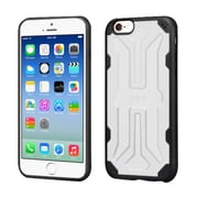 Insten Hard TPU Cover Case For Apple iPhone 6/6s - White/Black (2195716)