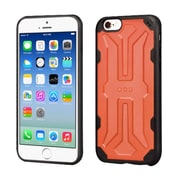 Insten Hard TPU Cover Case For Apple iPhone 6/6s - Orange/Black (2195720)