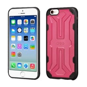 Insten Hard TPU Cover Case For Apple iPhone 6/6s - Pink/Black (2195721)