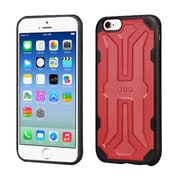 Insten Hard TPU Cover Case For Apple iPhone 6/6s - Red/Black (2195722)
