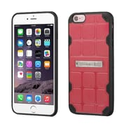 Insten Hard TPU Cover Case w/stand For Apple iPhone 6 Plus/6s Plus - Pink/Black (2189657)