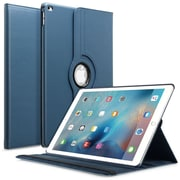 Insten 360 Degree Rotating Leather Multi-Angle Stand Case Cover For Apple iPad Pro (2015) Navy Blue (2171889)