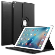 Insten 360 Degree Rotating Leather Multi-Angle Stand Case Cover For Apple iPad Pro 12.9 (2015) - Black (2171891)