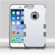 "Insten Cream White/Iron Gray TUFF Merge Hybrid Rugged Hard Shockproof Case For iPhone 6S 6 4.7"" (1938407)"