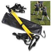 Insten 4 Meter Yellow Agility Training Ladder for Soccer Speed Football Fitness Feet Training (with Carry bag) (1860600)