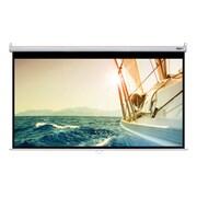 "Hamilton Buhl™ WS-W59105 Manual Pull Down HDTV Projector Screen, 120"""