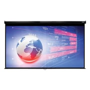 "Hamilton Buhl™ WS-W74131BK Manual Pull Down HDTV Projector Screen, 150"""