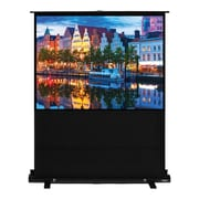 Hamilton Buhl™ AC-7858 Pull Up Portable Floor Rising Video Projector Screen, 100""
