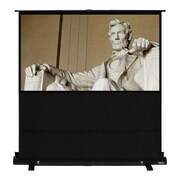 Hamilton Buhl™ AC-8749 Pull Up Portable Floor Rising HDTV Projector Screen, 100""