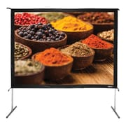 Hamilton Buhl™ BFF-7296 Quick Release Folding Frame Video Projector Screen with Case, 120""