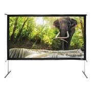 "Hamilton Buhl™ BFF-68120 Quick Release HDTV Projector Screen, 138"""