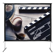 Hamilton Buhl™ BFF-90120 Quick Release Video Projector Screen, 150""