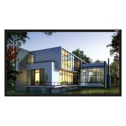 "Hamilton Buhl™ FF-110-R Fixed Frame HDTV Projector Screen, 110"""