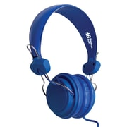 Hamilton Buhl™ FV-BLU TRRS Over-the-Head Stereo Headset with In-Line Microphone, Blue