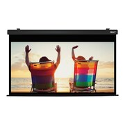 Hamilton Buhl™ HBS4987BK Electric HDTV Projector Screen, 100""