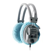 "Hamilton Buhl™ HygenX45 Disposable Ear Cushion Cover for Over-Ear Headphones/Headsets, 4.5"", Blue, 100/Pack"