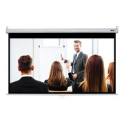 Hamilton Buhl™ WS-W4987 Manual Pull Down HDTV Projector Screen, 100""