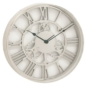 Urban Designs 18'' Gear Wheel Aluminum Wall Clock