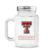 DuckHouse NCAA Mason Jar; Texas Tech Red Raiders
