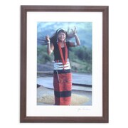 Novica Happy Wa Girl Color on Kodak Digital Photo Paper by Akha Jim Framed Photographic Print