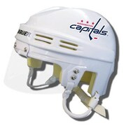 Bauer Official NHL Licensed Mini Player Helmets - Washington Capitals (White)