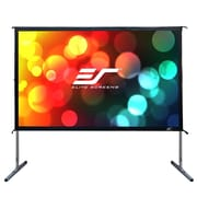 Elite Screens YardMaster2 White Portable Projection Screen; 110'' Diagonal